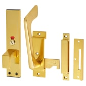 Facility Indicator Bolt - Gold Anodised Aluminium)