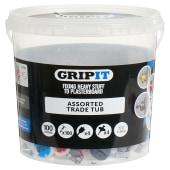 Grip It® Assorted Trade Tub - 100 Tub)