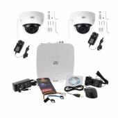 Burg Wachter BURGcam - 2 Wi-Fi Dome Camera CCTV Kit - 1TB)