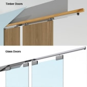 Ducasse Wall Fixing Kit for Glass Door Systems - 3 metres)