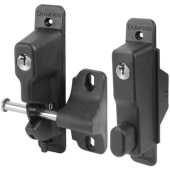 Double Sided Lockable Gravity Safety Catch - Locked Open & Closed - 260 x 180 x 60mm)