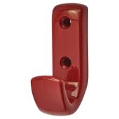 Hoppe Paris Coloured Nylon Coat Hook Face Fix - Rouge Red)