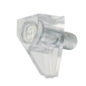 ION Shelf Support - 5mm Pin - Transparent - Pack 50)