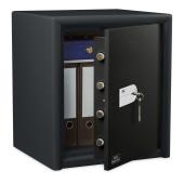 Burg Wächter CL 40 S Combi-Line Key Operated Fire Safe - 560 x 495 x 445mm - Light Grey)