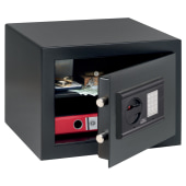 Burg Wächter H 1 E HomeSafe Electronic Safe - 278 x 402 x 376mm - Black)