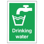 Drinking Water Sign)