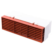 Rytons Multifix Air Brick with Adaptor for 204mm x 60mm Ducting - Terracotta)