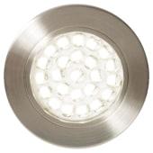 Forum Pozza 1.5W LED Under Cabinet Light - Satin Nickel)