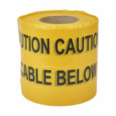 Warning Tape - Cable Below - 150mm x 365m)