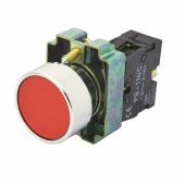 Lewden Push Button - Red)
