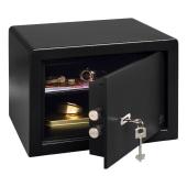 Burg Wachter PointSafe Key Operated Safe - 255 x 350 x 300mm - Black)