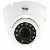 Yale Smart Home CCTV Dome Outdoor Camera - Wired - HD1080p)