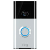 Ring Video Doorbell - Satin Nickel)