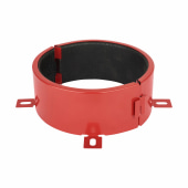 Sealmaster FireClose Intumescent Pipe Collar - 160mm - Red)