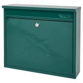 Elegance Mailbox - 362 x 310 112mm - Green)