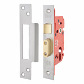 UNION® 22EUS StrongBOLT Euro Profile Sashlock - 68mm Case - 45mm Backset - Stainless Steel)
