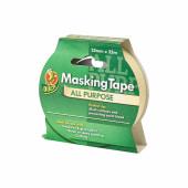 Duck Tape All Purpose Masking Tape - 25mm x 25m - Beige)