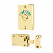 Traditional Indicator Bolt - Polished Brass)