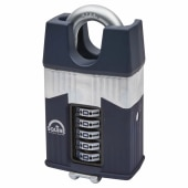 Squire Warrior Combination Closed Shackle Padlock - 65mm)