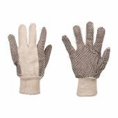 Men's Cotton Grip Gloves)