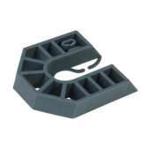 Horseshoe Packer - 55 x 43 x 10mm - Grey - Pack 200)