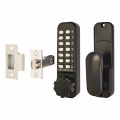 Borg BL2601 Marine Grade Easicode Pro Code Operated Lock with Thumbturn - Black)