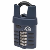 Squire Combi All Weather Padlock - 60mm - Closed Shackle)