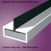 Pyroplex Single Centre Flipper Intumescent Strip - 15 x 4 x 2100mm - White - Pack 10)