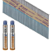Paslode IM90I Nail - First Fix - 90 x 3.1mm - Bright Steel - Pack 2200)