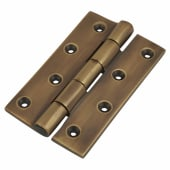 Olde Forge Butt Hinge - 100 x 65 x 4.5mm - Antique Bronze)