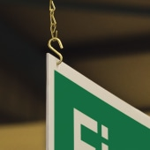 Hanging Kit for Double Sided Signs)