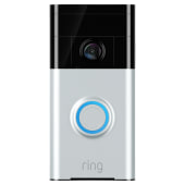 Ring Video Doorbell - Satin Nickel)