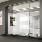 Glatt II Sliding Door Kit - 1250mm - 6mm Glass Doors)
