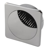 ION Square Cable Tidy - 60mm - Chrome)