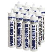 Norsound Acoustic Fire Rated Mastic - Trade Multi-pack - 310ml - White - Pack 12)