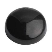 Plastic Screw Dome - Black)