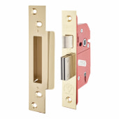ERA® BS3621:2007 5 Lever Sashlock - 67mm Case - 44mm Backset - Brass)