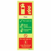 NITE-GLO Foam Extinguisher - 300 x 100mm)