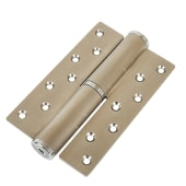 Hydraulic Hinge to suit 80kg Door - Right Hand -  Satin Stainless Steel )