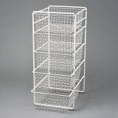 elfa® Basket Towers 10 Runner White)