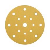 Mirka Gold Discs 17 Hole Multi Format - 125mm - Grit 120 - Pack 50)