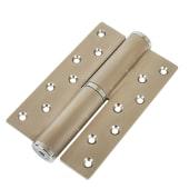 Hydraulic Hinge to suit 60kg Door - Left Hand  - Satin Stainless Steel )