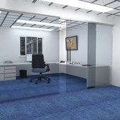 KLÜG I-slide 80kg Straight Glass Sliding System - 2 metre Kit)