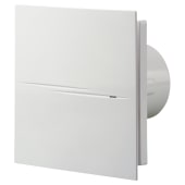 Blauberg Calm Design Extractor White Fan Humidity - 100mm)
