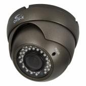 Qvis IP66 4MP Varifocal Eyeball Dome Camera - Grey)