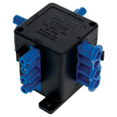 Click Scolmore 250V 20A 4 Pin Flow Hub - 1 In 3 Out    )