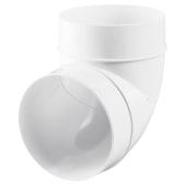 Blauberg Plastic Circular 90 Degree Bend - 100mm)