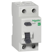 Schneider Easy9 63A 30mA Double Pole RCCB - AC Type )
