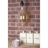 Forum 6W LED Filament Vintage BT180 - E27 - 2000k   )