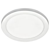 Forum 18w Tauri LED Flush Wall/Ceiling Panel - White)